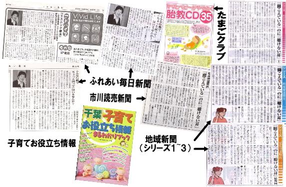 新聞, 雑誌等に掲載された紹介・依頼記事